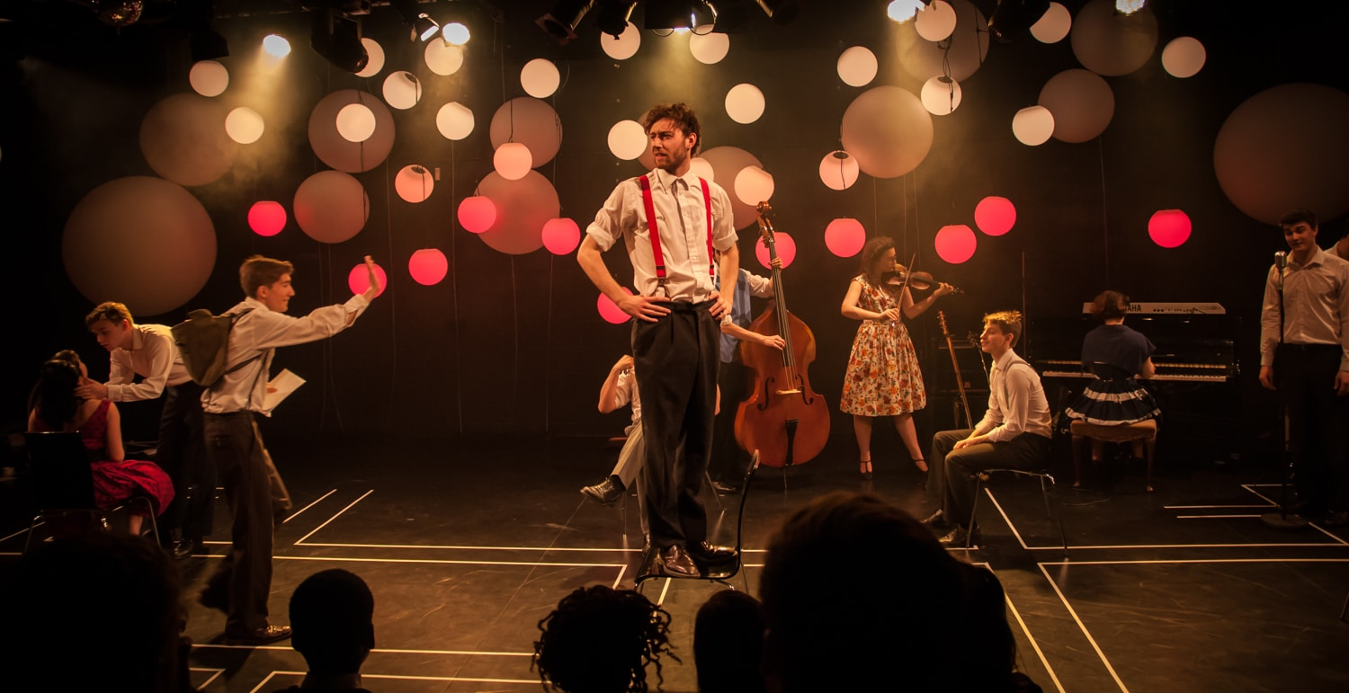 Rose Bruford College Theatre for Young Audiences and Actor Musicianship MA/MFA students performing